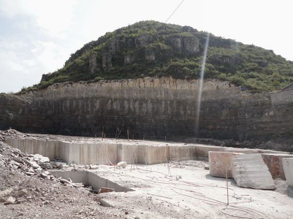 Wooden Coffee Marble Quarry