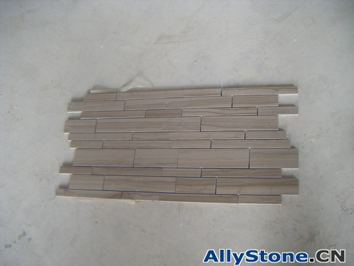 Athens Wooden Thickness 10mm Honed Mosaic