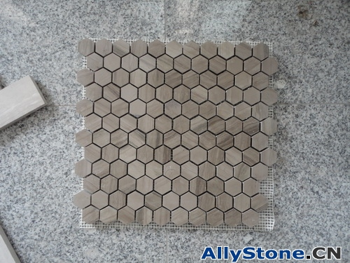 Athens Wooden Thickness 10mm Polished Mosaic