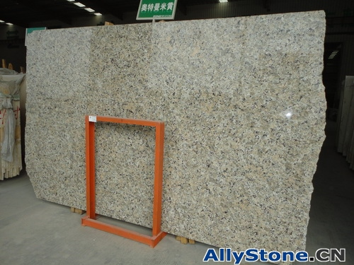 Butterfly Yellow Granite Slabs