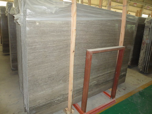 Wooden Coffee Marble Slab and Quarry