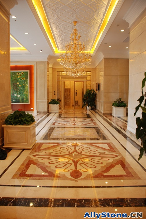 Indoor Marble Wall Cladding and Flooring