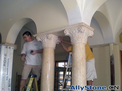 Marble Columns and capitals
