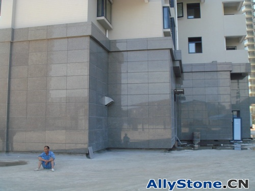 Granite wall cladding projects